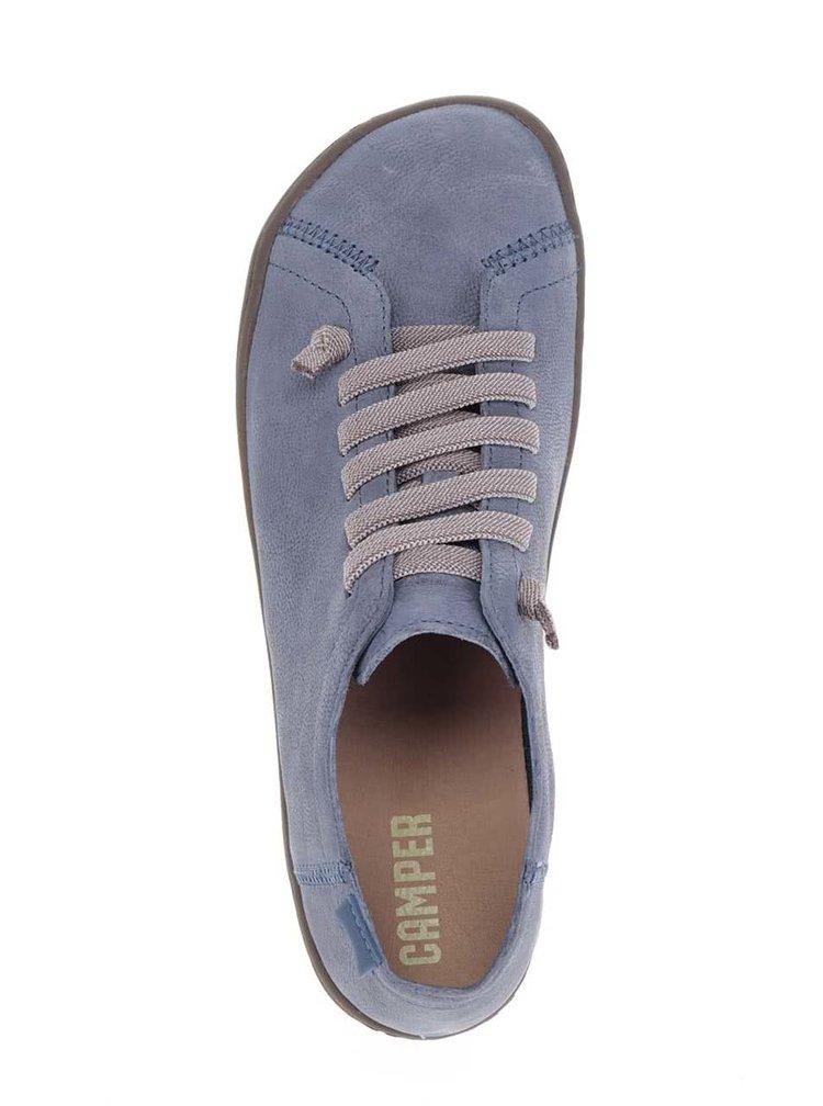 Modré dámské kožené tenisky Camper