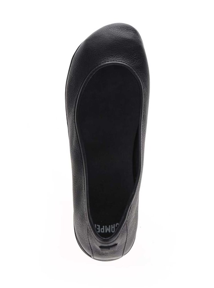 Černé kožené baleríny Camper