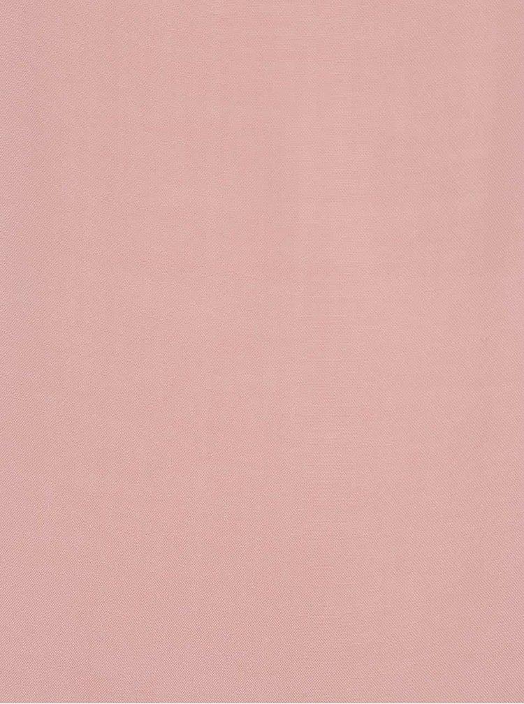 Růžová volná halenka s krátkým rukávem VERO MODA Boca