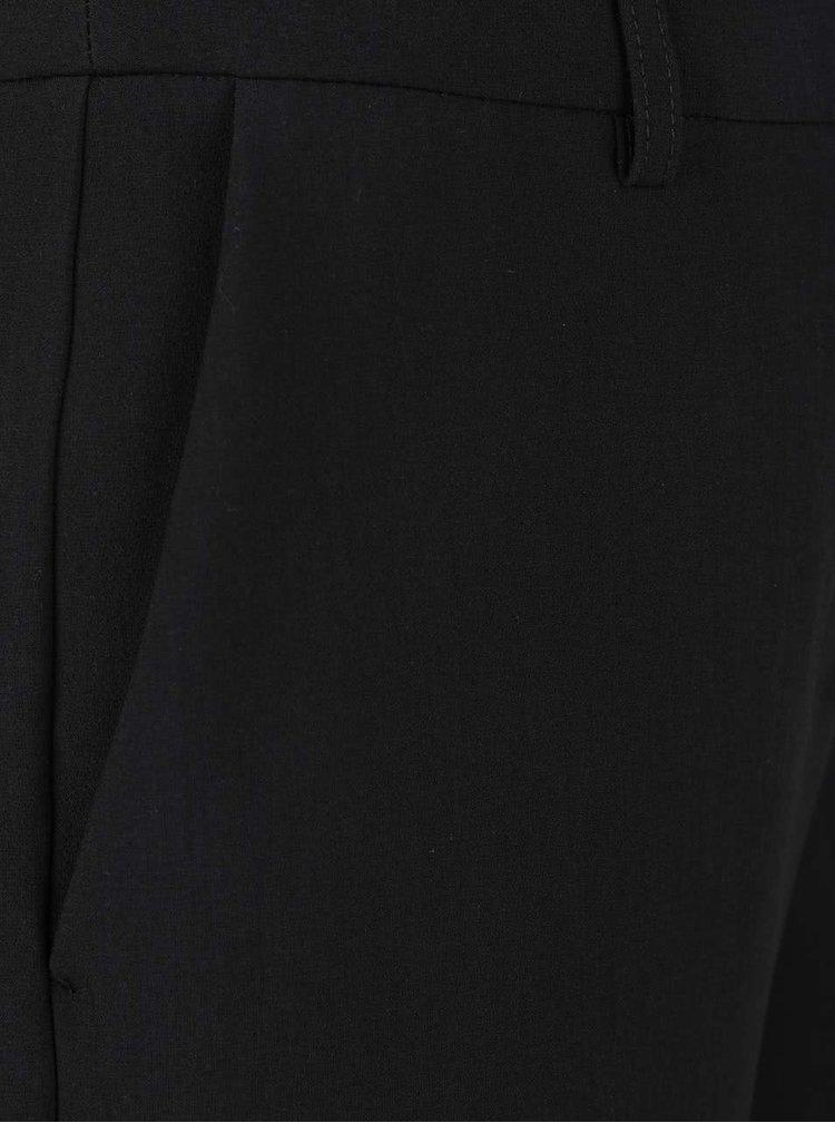 Černé společenské kalhoty Selected Femme Amilia