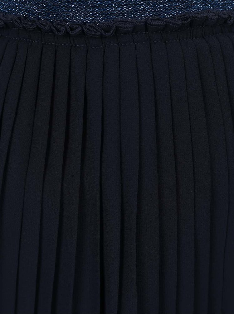 Tmavě modrá holčičí plisovaná sukně name it Inew