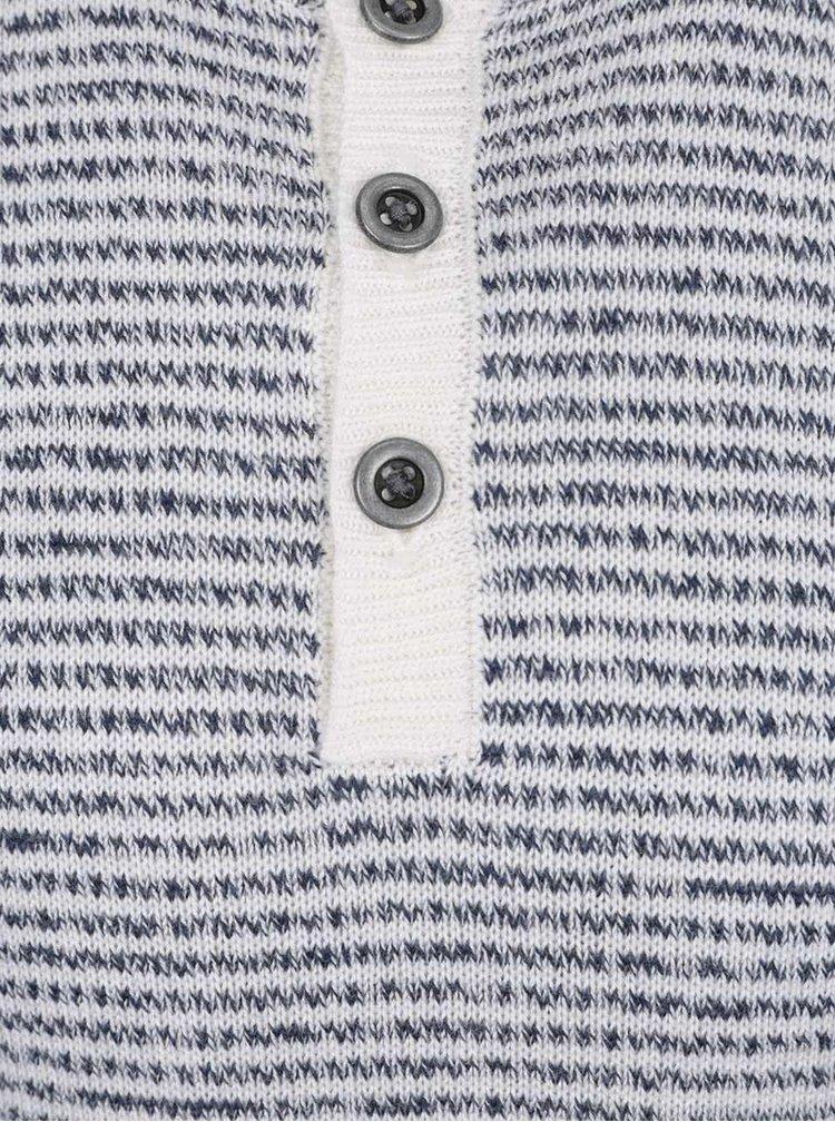 Krémovo-modrý klučičí svetr name it Kosmo