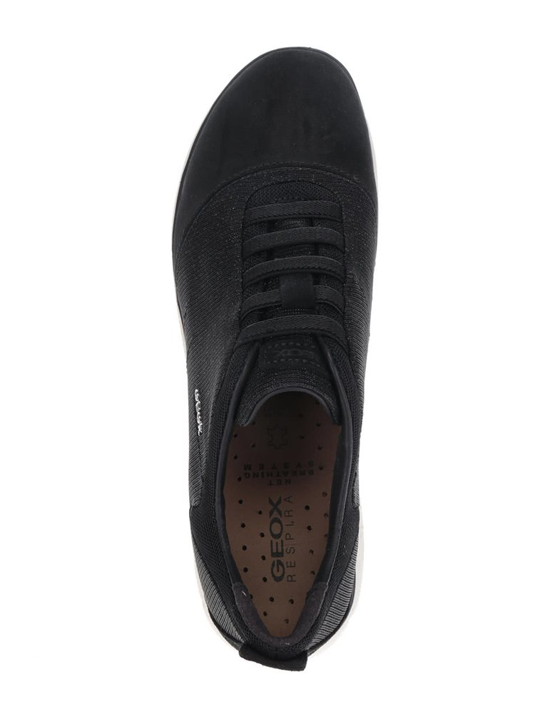 Pantofi sport negri Geox Nebula G pentru femei