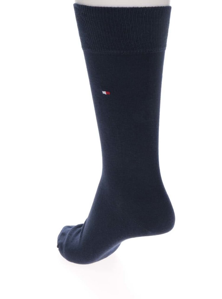 Sada dvou párů pánských ponožek v modré barvě Tommy Hilfiger