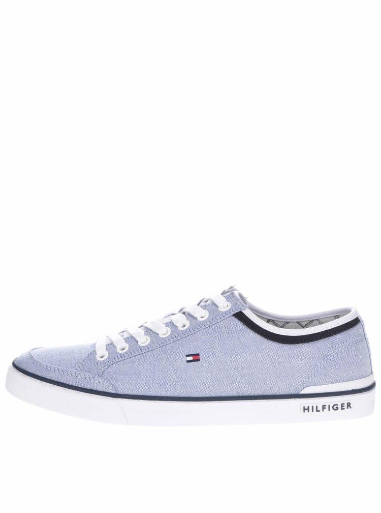Světle modré pánské tenisky Tommy Hilfiger