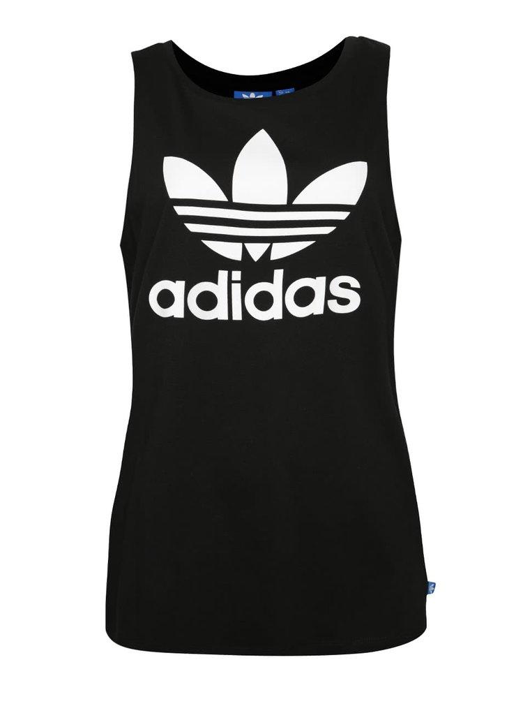 Maiou negru adidas Originals cu logo