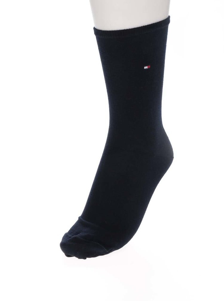 Sada dvou párů dámských ponožek v červené a modré barvě Tommy Hilfiger Casual