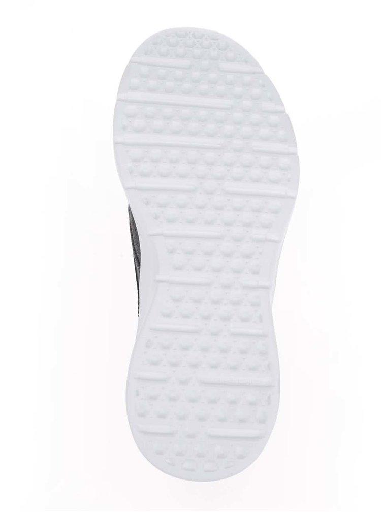 Šedé pánské tenisky s koženými detaily VANS Iso