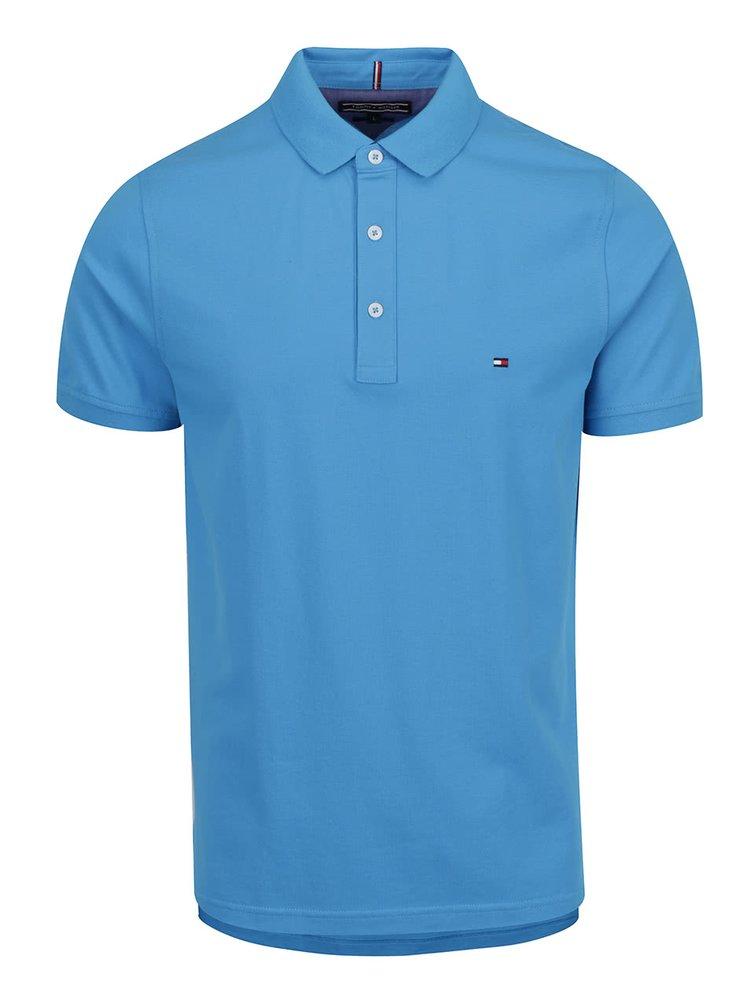 Světle modré pánské polo triko Tommy Hilfiger
