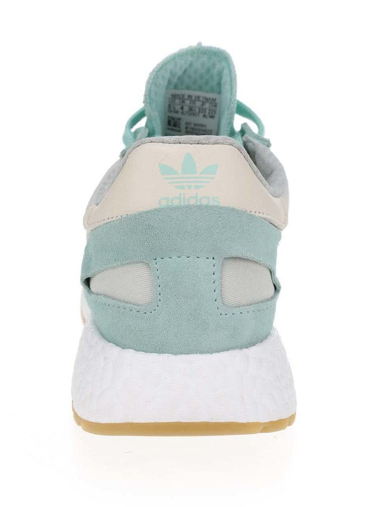 Mentolové dámské tenisky s detaily adidas Originals Iniki Runner