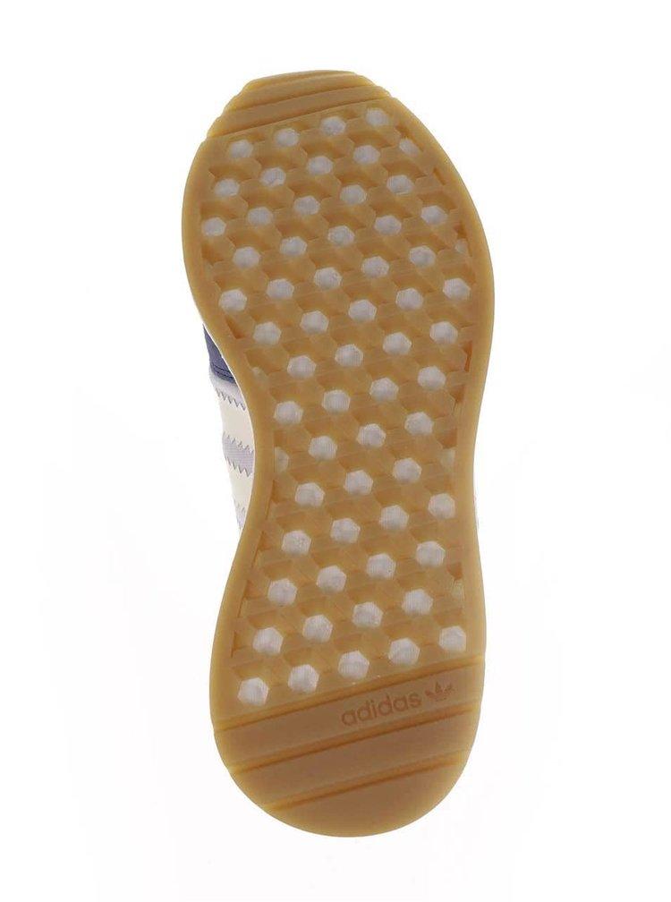 Fialové dámské tenisky s detaily adidas Originals Iniki Runner