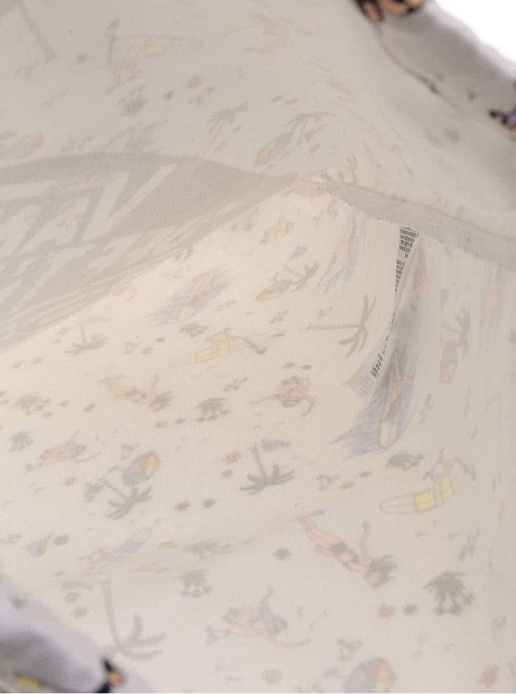 Krémový vzorovaný dámský vak VANS