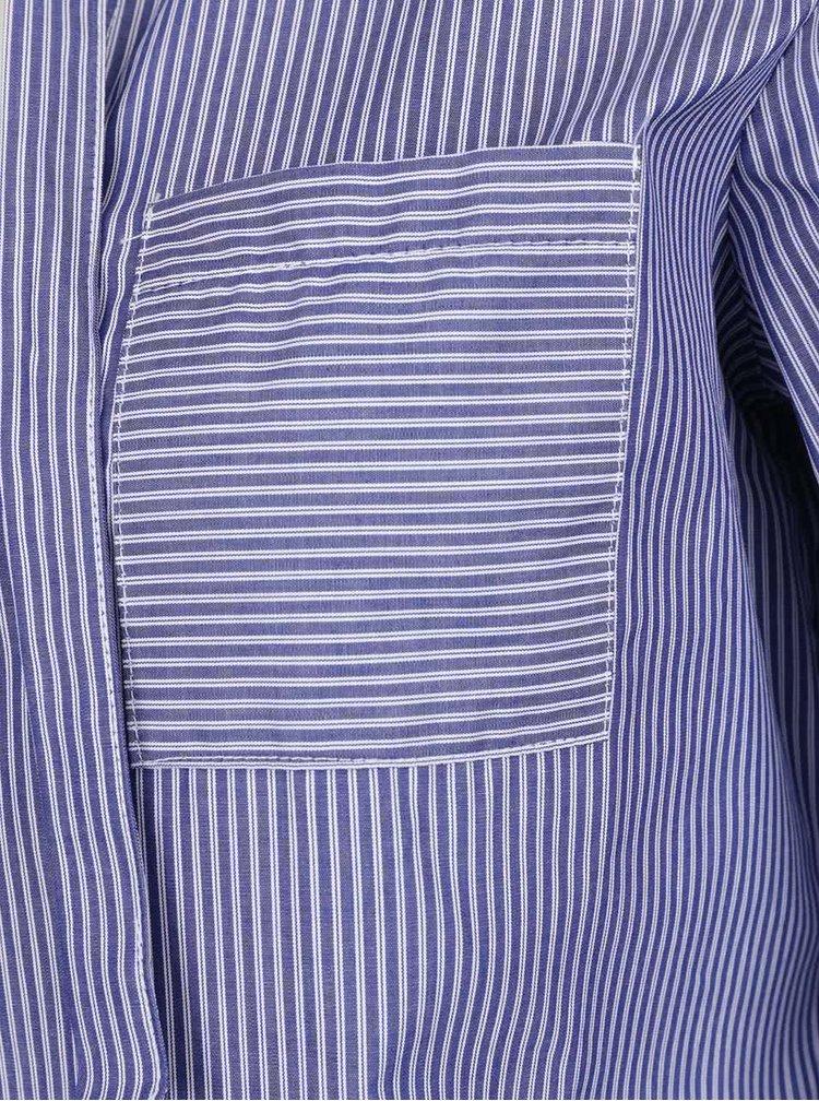 Bluză albastru închis ZOOT cu panglici
