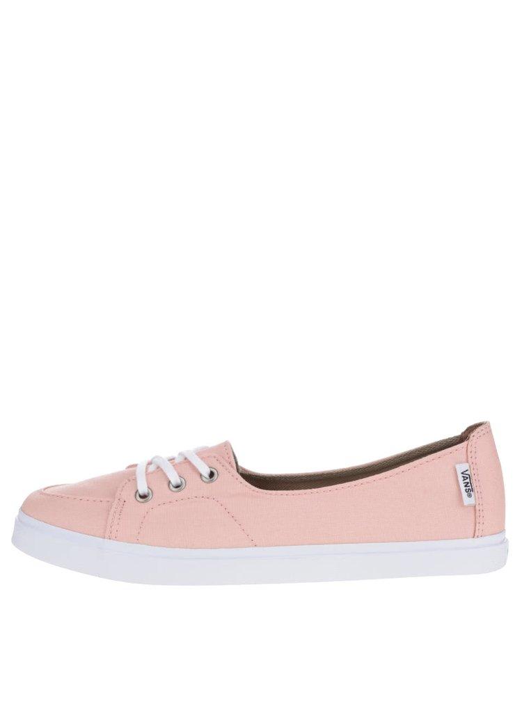 Světle růžové dámské tenisky VANS Palisades