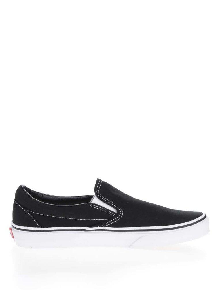 Pantofi slip-on negri VANS Classic