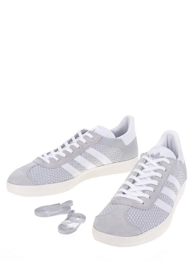 Šedé pánské tenisky adidas Originals Gazelle