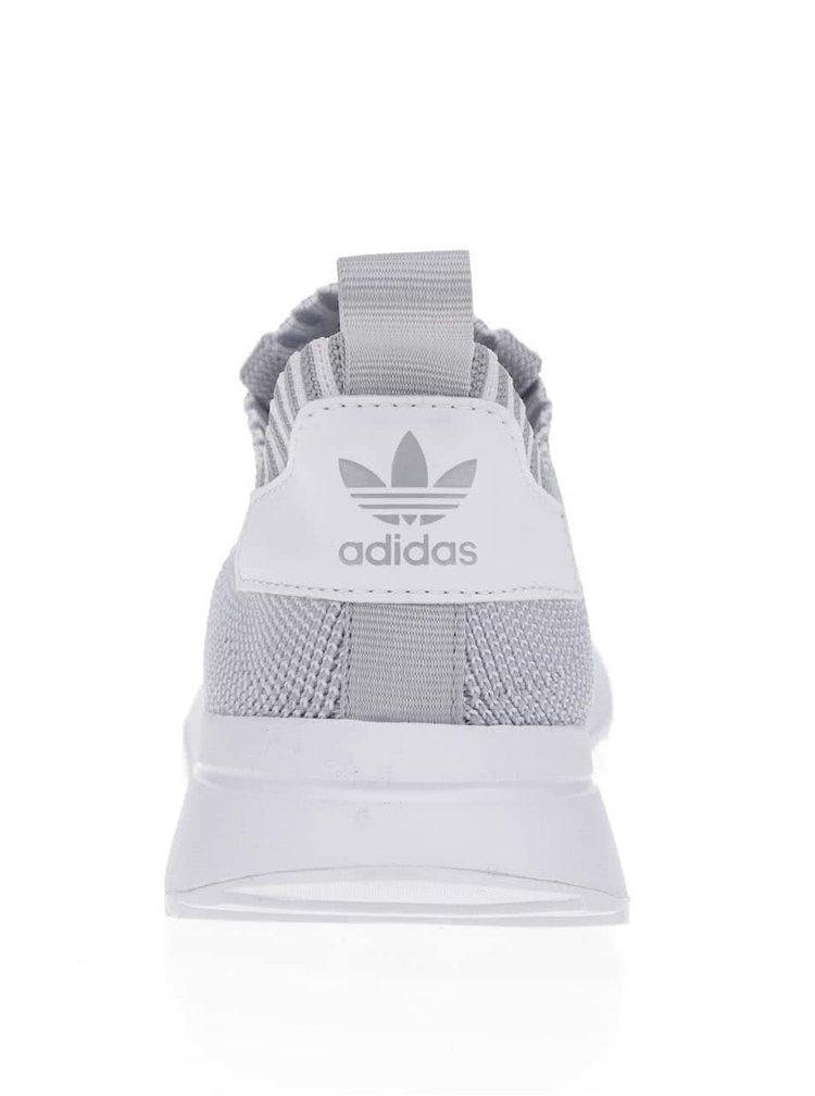 Šedé dámské perforované tenisky adidas Originals Flashback