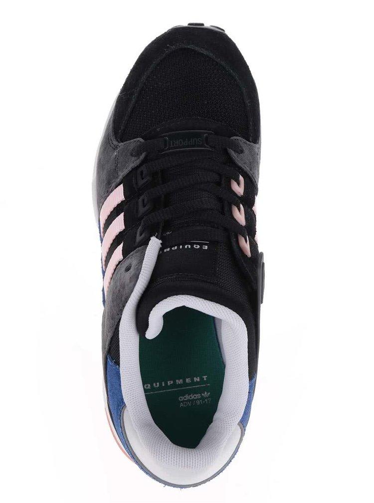 Šedo-černé dámské tenisky adidas Originals Equipment Support