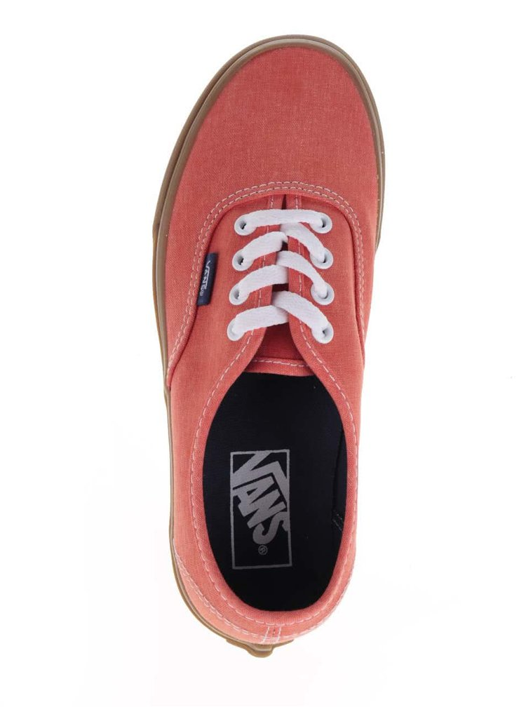 Tenisi portocalii VANS Authentic