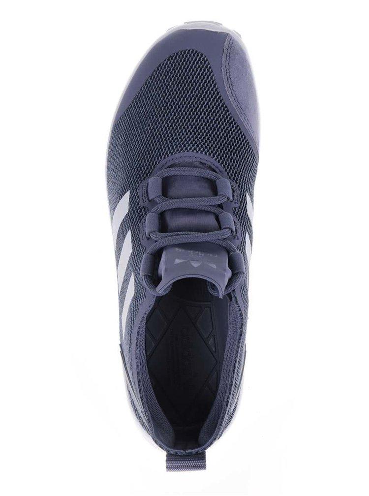 Pantofi sport albaștri adidas Originals Flux and Verve