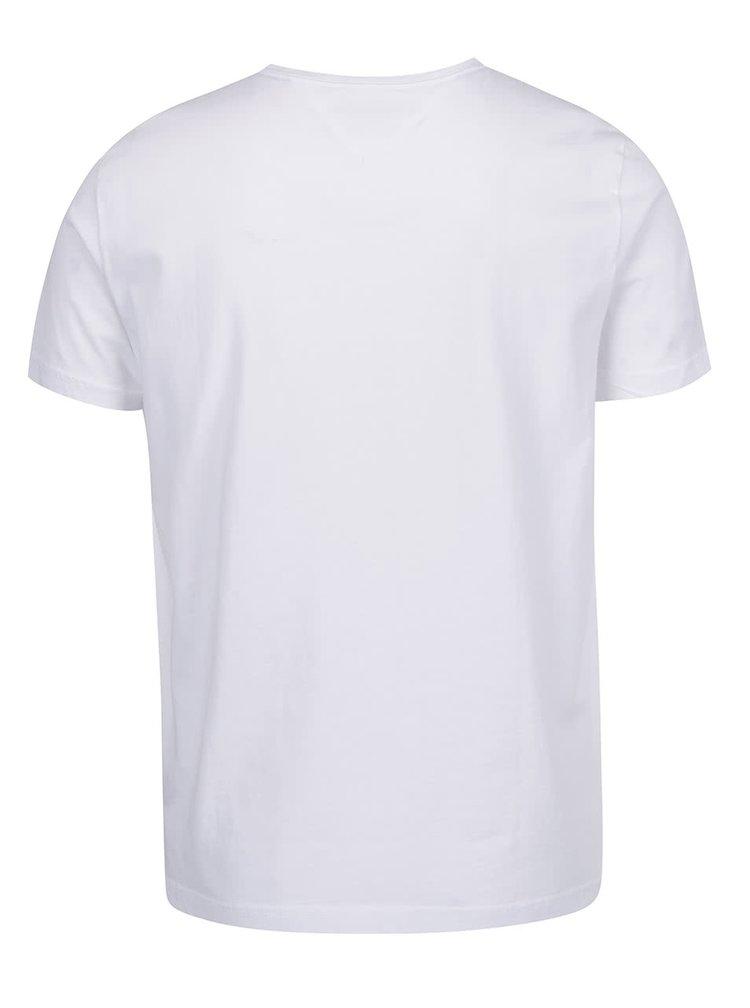 Bílé pánské basic triko Tommy Hilfiger