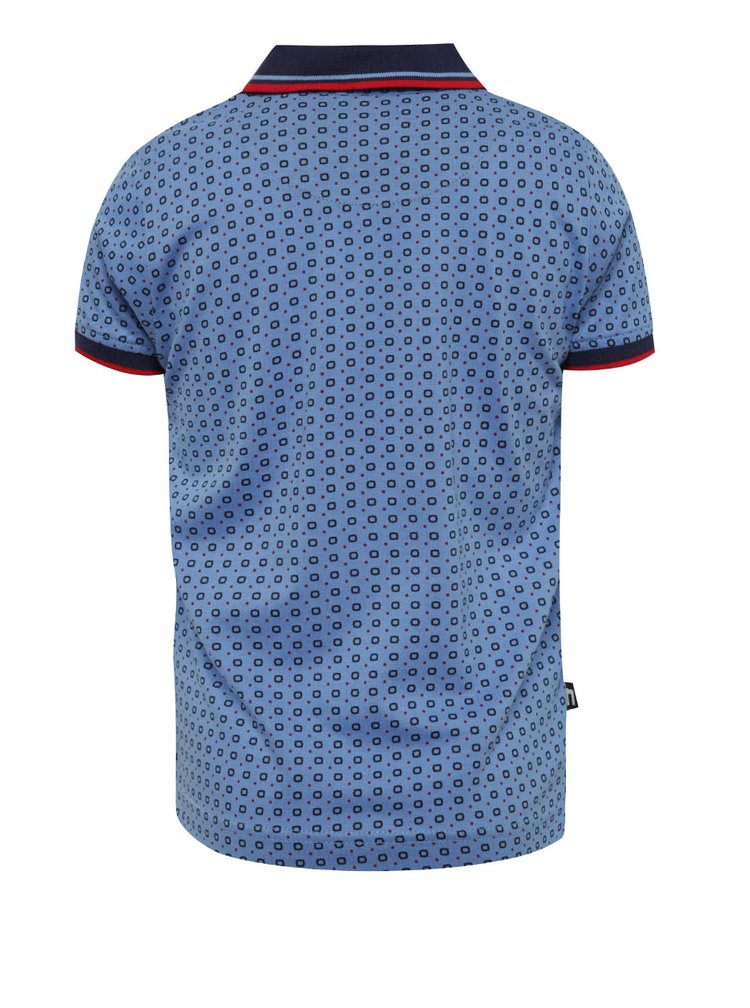 Tricou polo albastru deschis Mix´n Match din bumbac