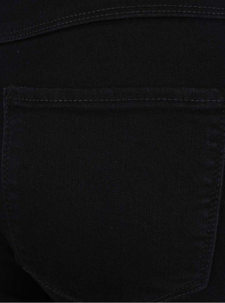 Černé 3/4 džíny ONLY Rain