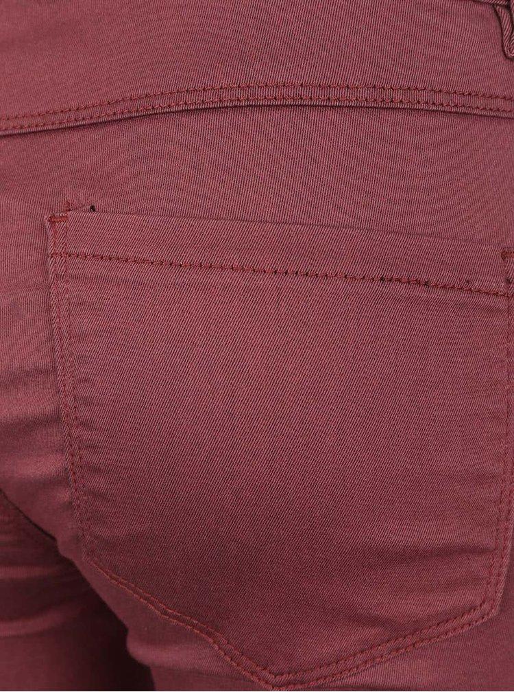 Pantaloni visinii ONLY Elena skinny