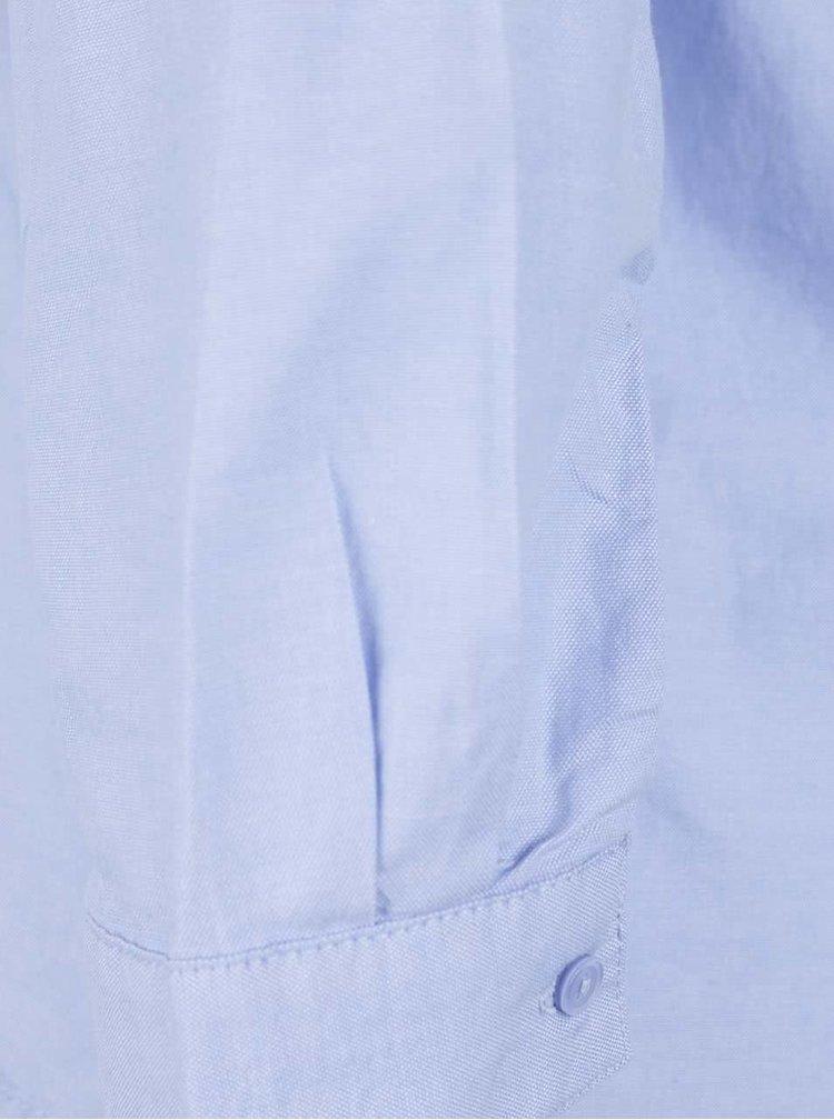 Modrá halenka s odhalenými rameny ONLY Drew