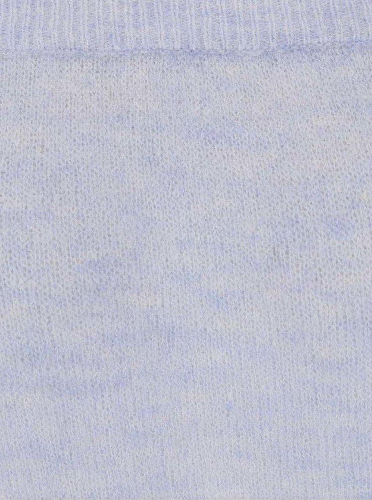 Bluză bleu Selected Femme Mia cu decolteu pe umeri