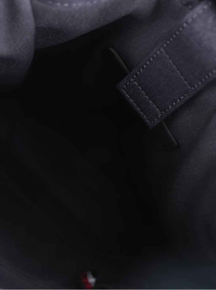 Tmavě šedá pánská crossbody taška Tommy Hilfiger