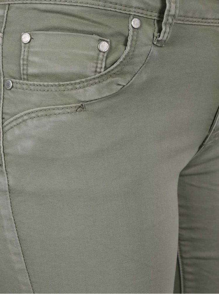 Pantaloni 3/4 kaki Haily's Jenna din denim