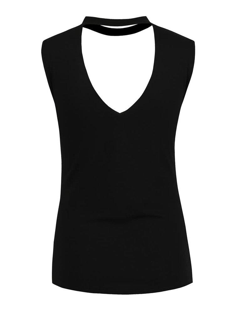 Tricou negru Haily's Faith cu imprimeu