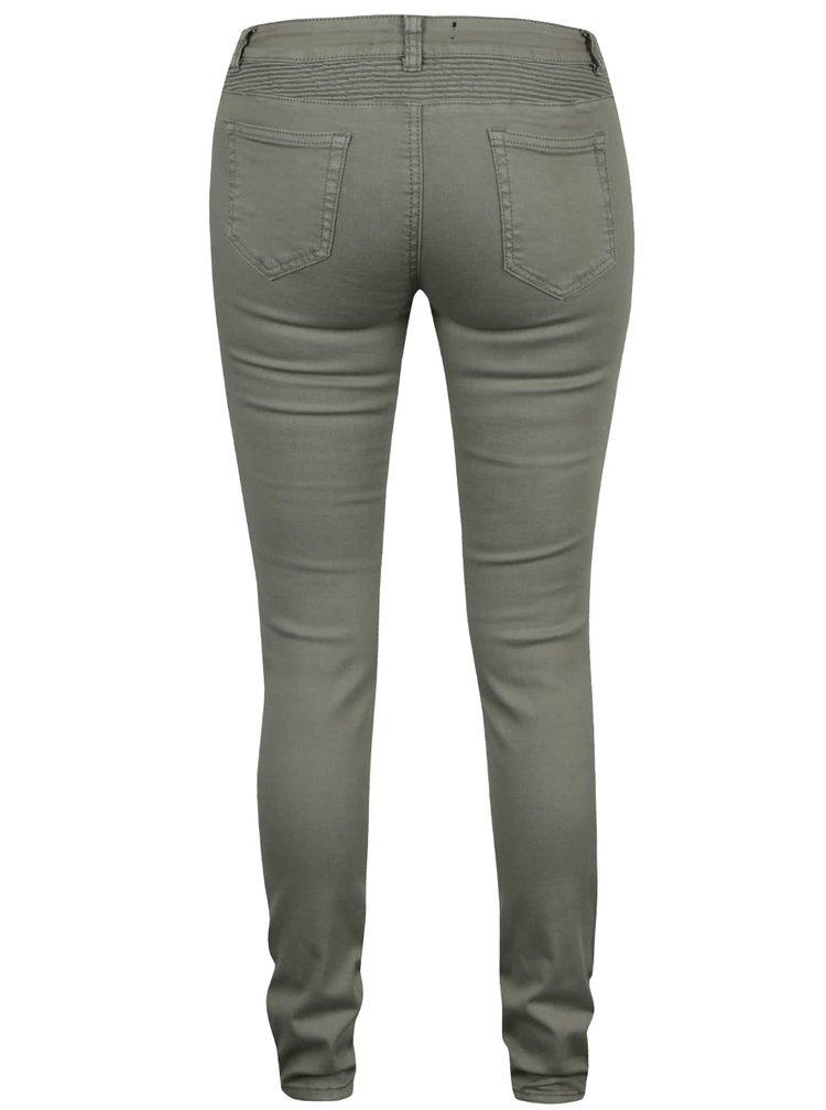 Khaki džíny s detaily Haily's Kina