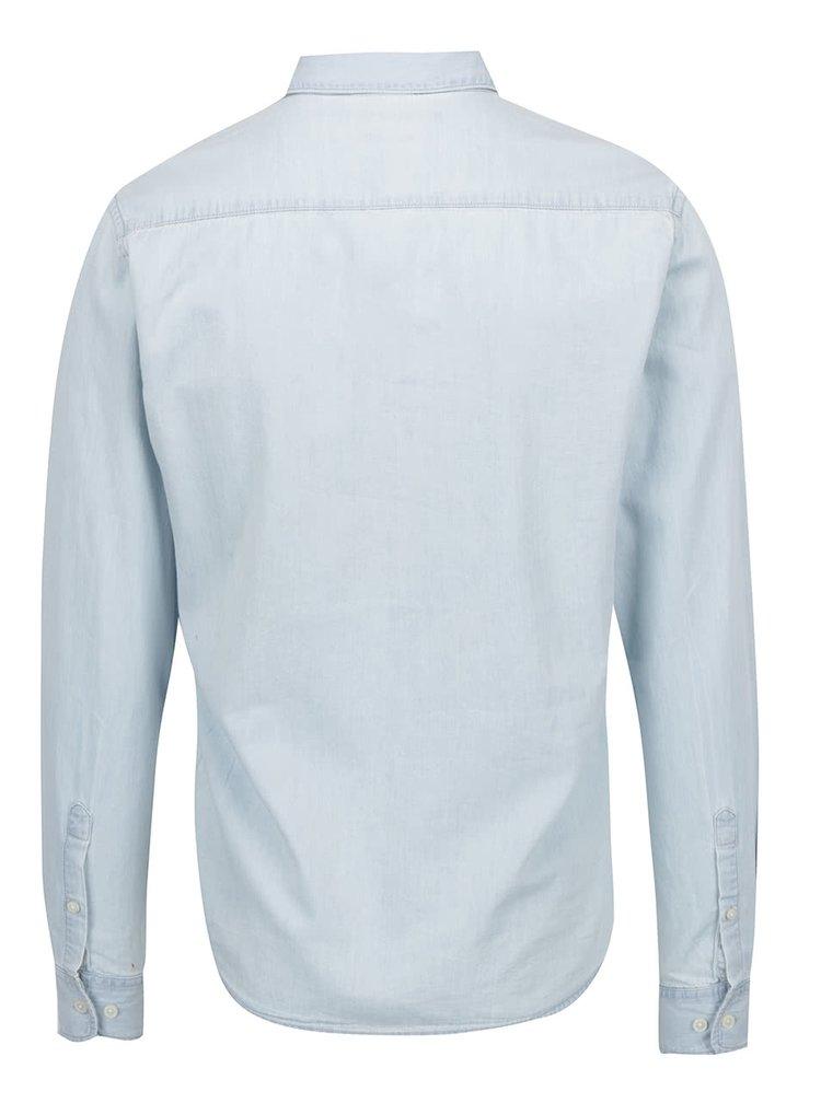 Světle modrá džínová košile ONLY & SONS Carlo