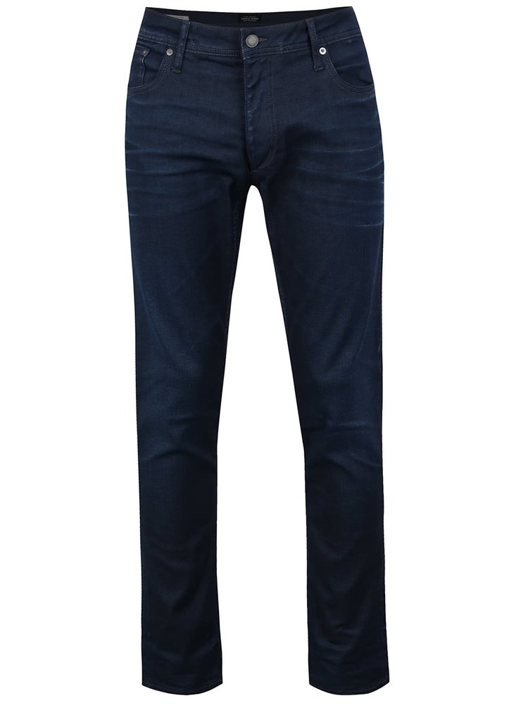 Blugi slim fit bleumarin - Jack & Jones Tim Classic