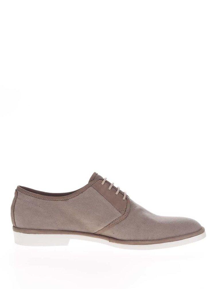 Pantofi maro Vagabond Pablo cu detalii din piele