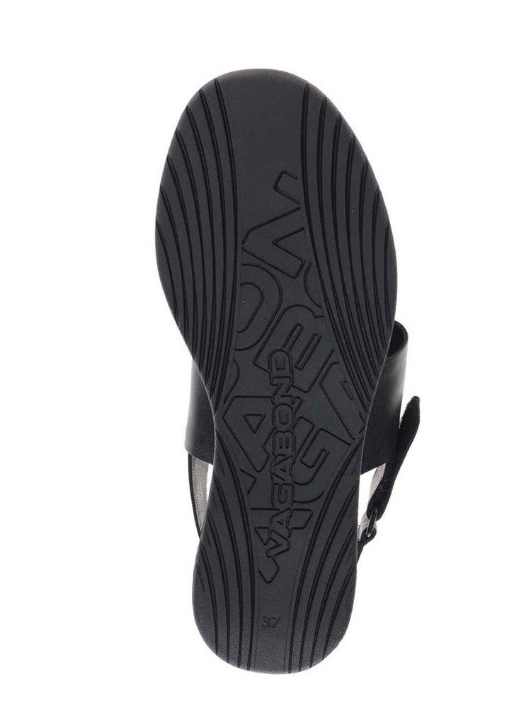 Černé dámské kožené sandále Vagabond Lola