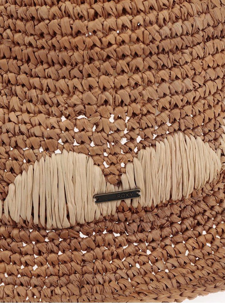 Světle hnědý klobouk Roxy Witching