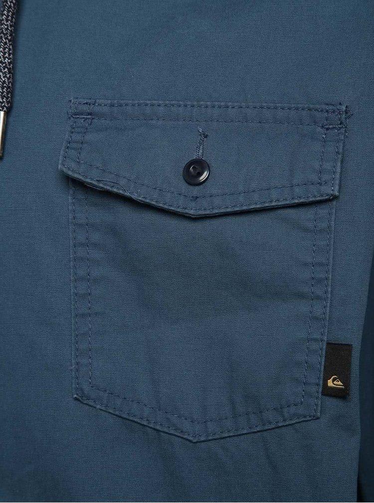 Jachetă bleumarin Quiksilver Maxon din bumbac