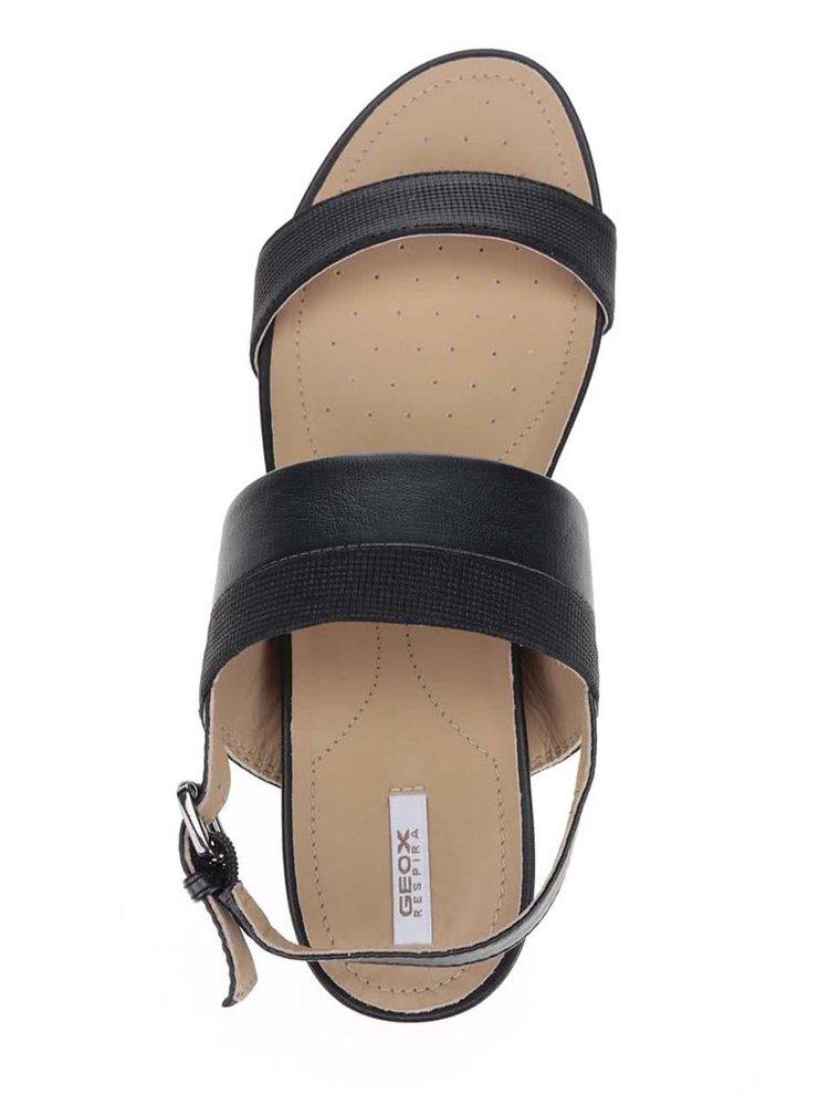 Sandale negre Geox Formosa din piele