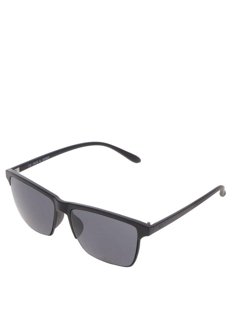 Černé sluneční brýle Jack & Jones Chris
