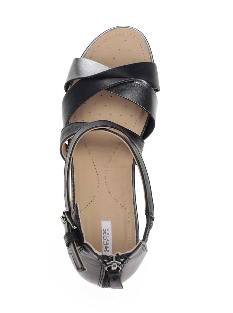 Sandale negru & gri Geox Formosa