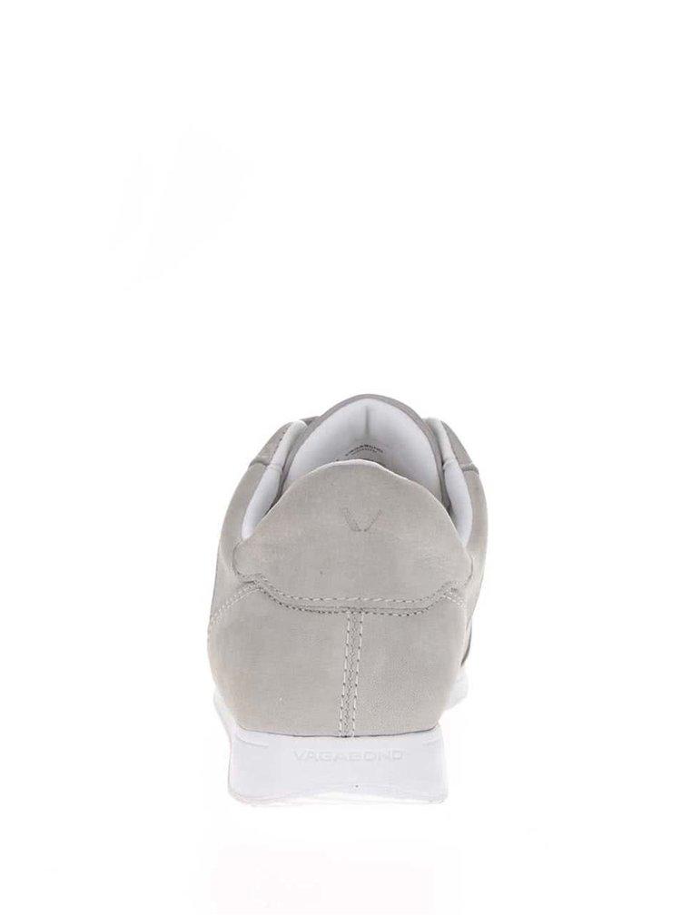 Šedé dámské tenisky s koženými detaily Vagabond Kasai