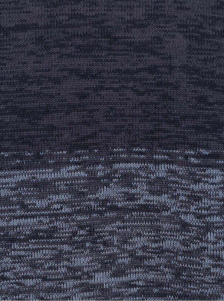 Modrý vzorovaný svetr Jack & Jones Denos