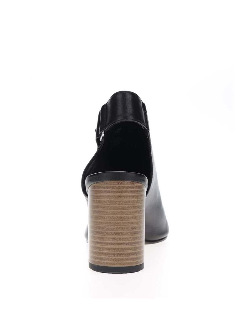 Sandale negre Vagabond Beatriz cu toc