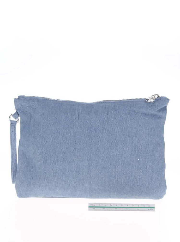 Portfard tip plic albastru TALLY WEIJL cu imprimeu