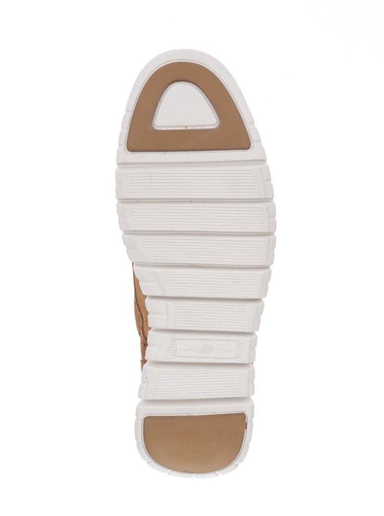 Pantofi Brogue maro London Brogues Gatz Derby din piele întoarsă