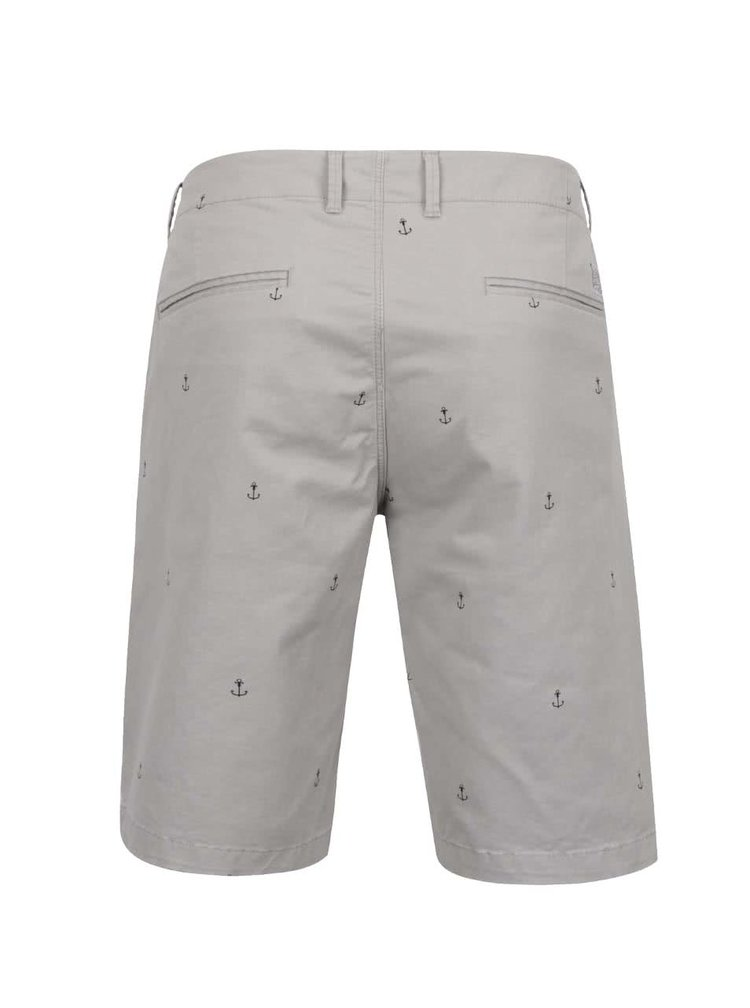 Pantaloni scurti gri Jack&Jones Mini Chino din bumbac