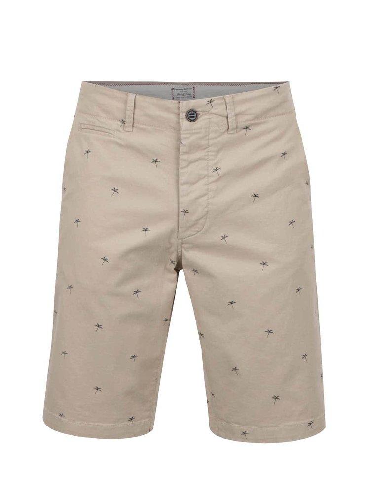 Pantaloni scurți bej Jack&Jones Mini Chino din bumbac